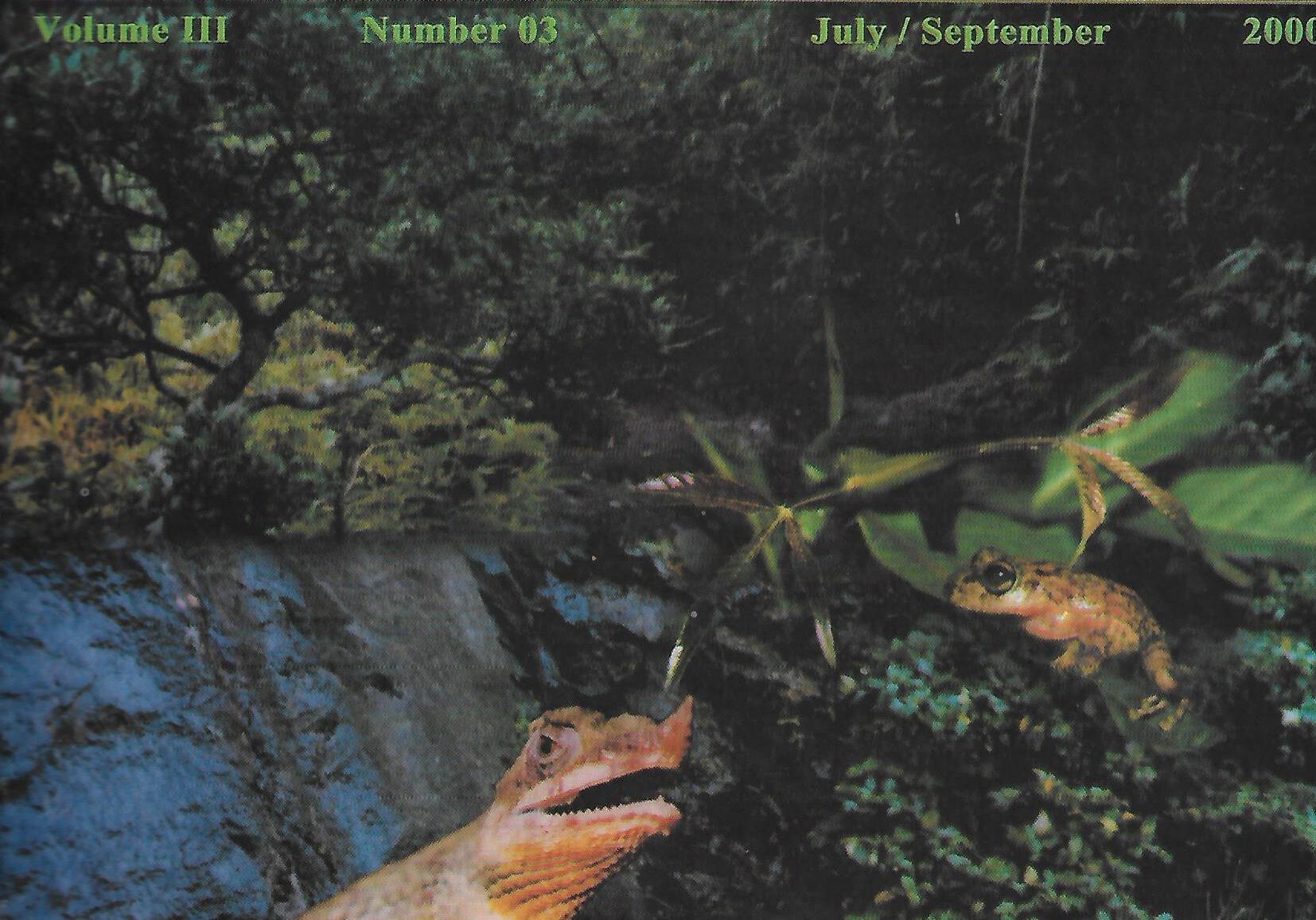 naturalist 2000 vol 3 no 3 p1